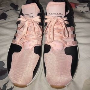 Adidas EQT Pink, Black Shoes